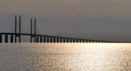 Sweden-Denmark-bridge