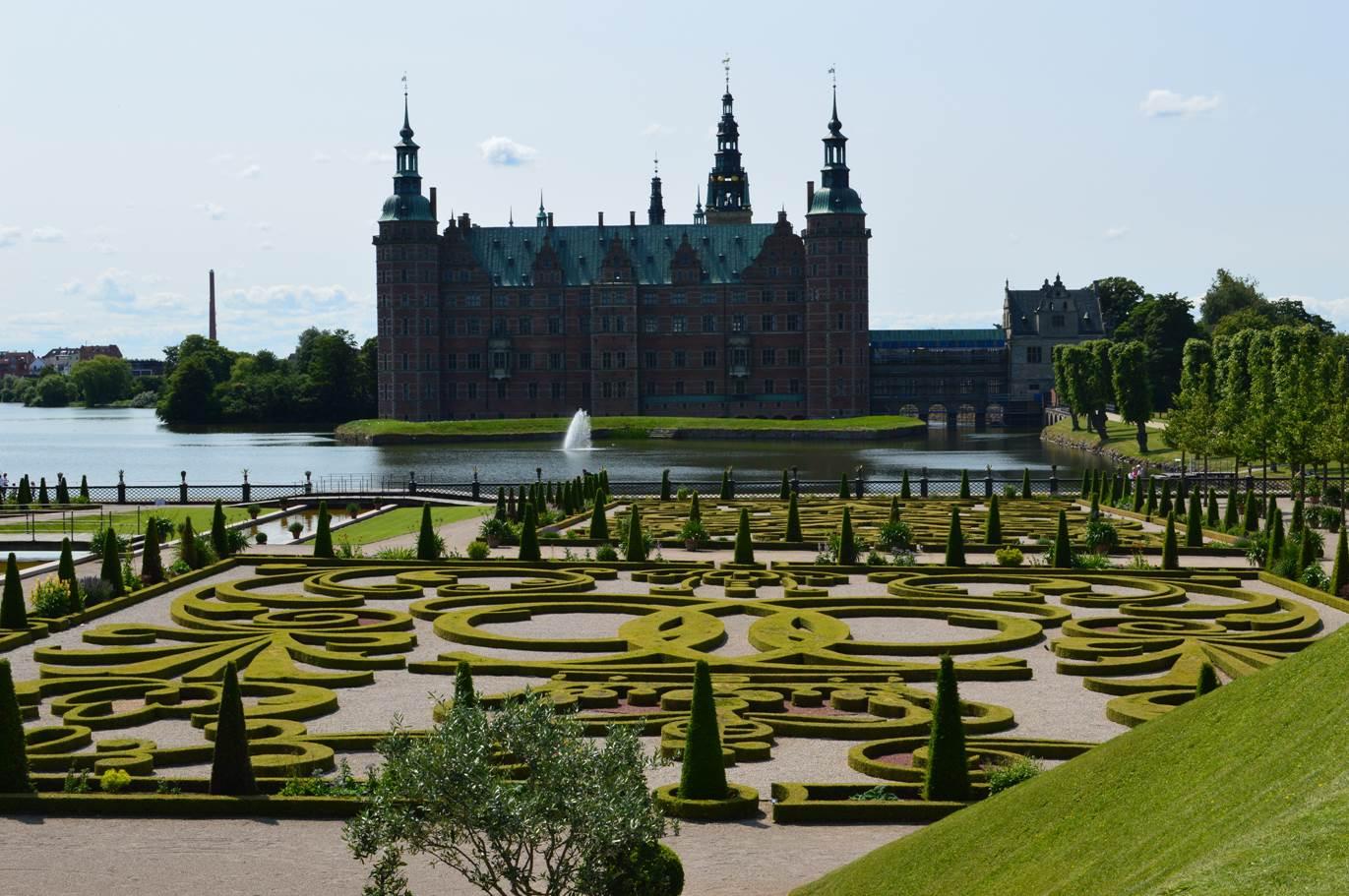 Fredriksborg's castle