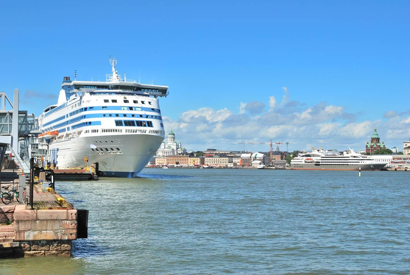 Helsinki Harbor summer