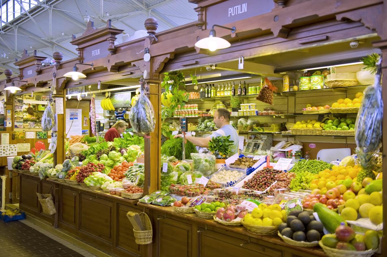 Helsinki food market
