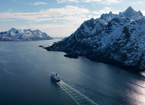 Hurtigruten Cruise line in Norway