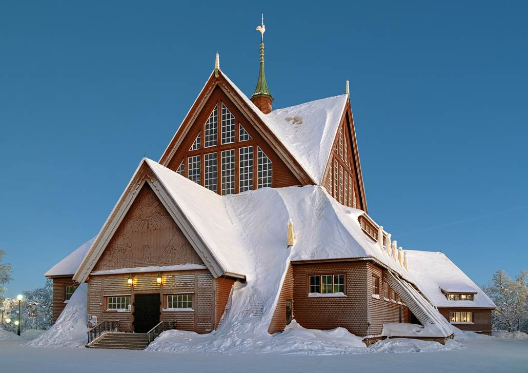 Kiruna church, Swedish Lapland