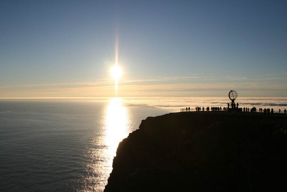 Midnight Sun, North Cape