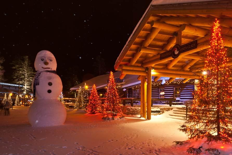 Santa's resort in Rovaniemi