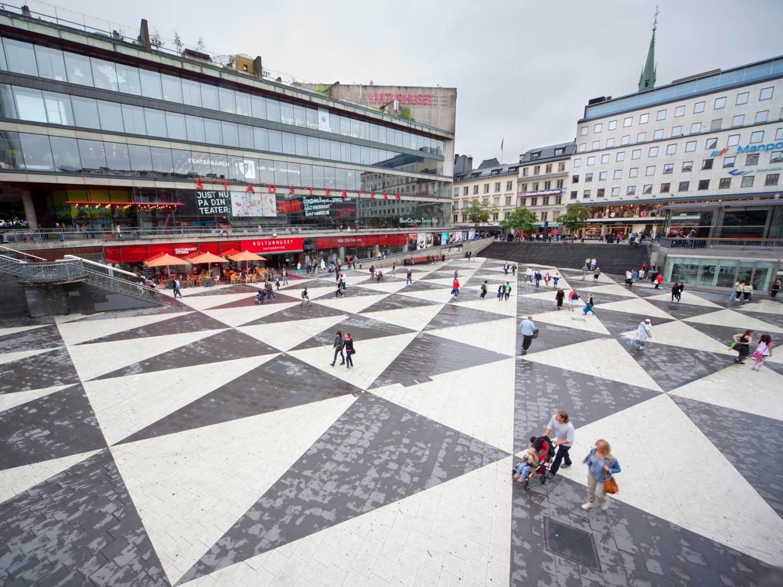Stockholm city square