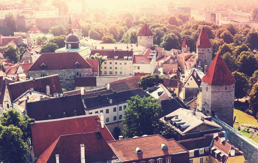 Take a cruise for a day excursion to Tallinn, Estonia