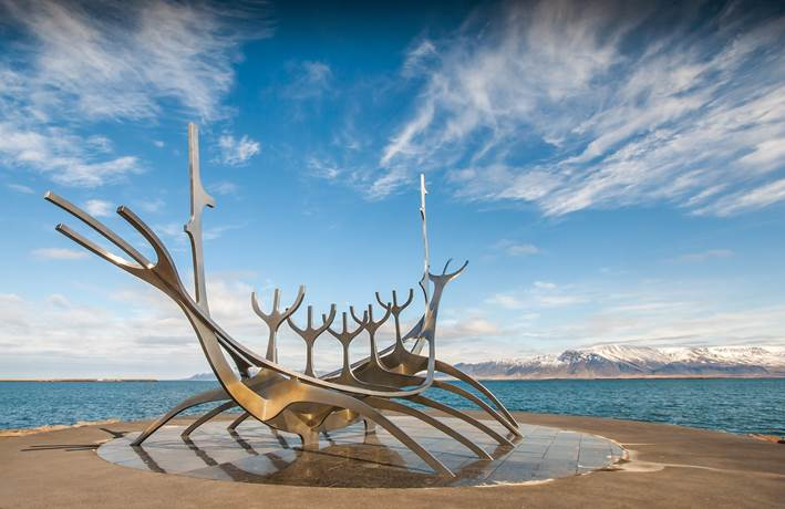 The Sun Voyager monument
