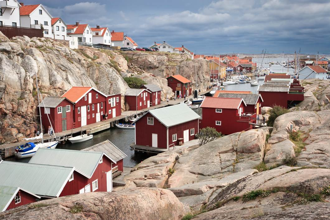 Village in the West Coast Archipelago