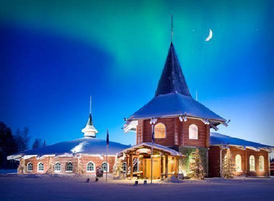 Visit Santa's Village in Rovaniemi, Finland