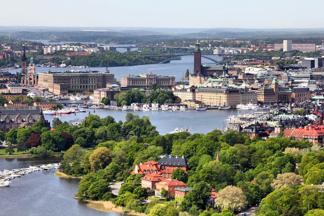 Stockholm summer view